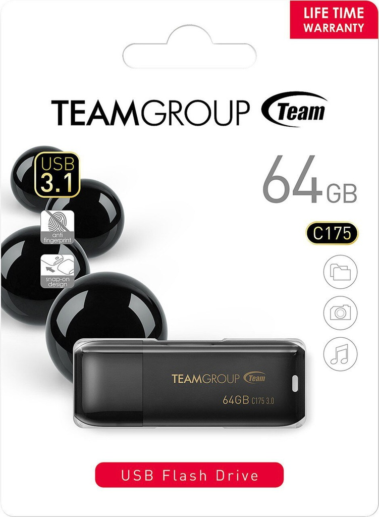 Teamgroup 64GB USB Flash Drive C175