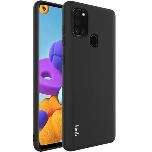 Frosted TPU Case for Samsung Galaxy A21s Black