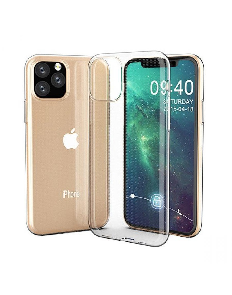 Ultra Clear 0.5mm Case Gel TPU Cover for iPhone 11 Pro Max transparent | 7426825373175
