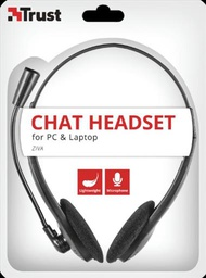 [0147155] Trust Ziva  Chat Headset for PC and Laptop