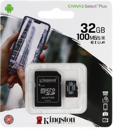 [2323868] Kingston 32GB Canvas Select Plus MicroSD  Card A1 with adapter